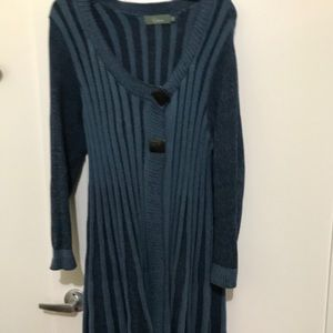 Willow cotton sweater coat